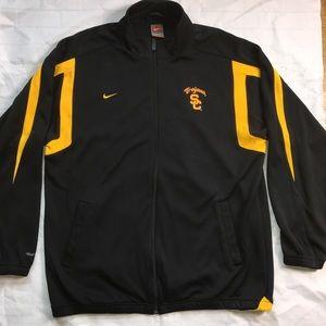 Nike fit dry Track Jacket Trojans Football Sz XL